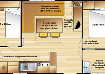 Mobil-home IRM Super Mercure I3347